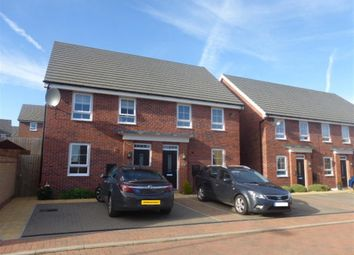 Thumbnail 3 bed property to rent in Jupiter Way, Wellingborough, Northamptonshire