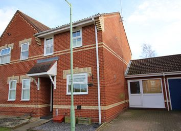 Thumbnail 2 bed semi-detached house for sale in Mulberry Gardens, Great Blakenham, Ipswich, Suffolk