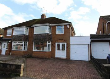 Thumbnail 3 bed semi-detached house for sale in Greenoak Crescent, Bramford, Coseley