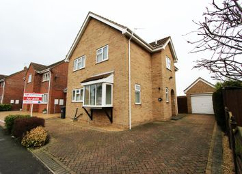 Thumbnail 4 bed detached house for sale in Beaumaris Road, Sawtry, Huntingdon