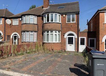 Thumbnail 4 bed semi-detached house for sale in Cherington Road, Selly Oak, Birmingham, West Midlands