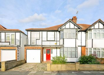 Thumbnail 5 bed semi-detached house to rent in Willows Avenue, Morden