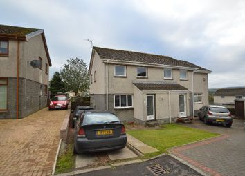 Thumbnail 3 bed semi-detached house for sale in Roseburn Drive, Cumnock, East Ayrshire