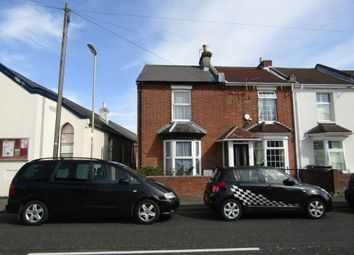 Thumbnail 3 bed end terrace house to rent in Grove Road, Gosport