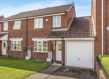 Thumbnail 3 bed semi-detached house to rent in Neville Close, Evenwood, Bishop Auckland