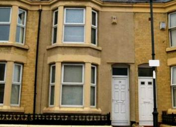 Thumbnail 5 bed shared accommodation to rent in Connaught Road, Liverpool