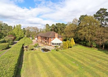 Thumbnail 5 bed detached house for sale in Gong Hill Drive, Lower Bourne, Farnham, Surrey
