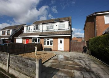 Thumbnail 3 bed semi-detached house for sale in Harpford Close, Breightmet, Bolton