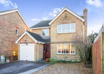 Thumbnail 5 bedroom detached house for sale in Wimbish Road, Papworth Everard, Cambridge