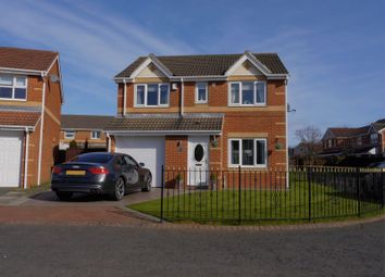 Thumbnail 4 bedroom detached house for sale in Marlfield Court, Westerhope, Newcastle Upon Tyne