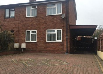 Thumbnail 3 bed property to rent in Walnut Drive, Cannock