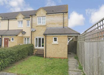 Thumbnail 2 bed end terrace house for sale in Siskin Close, Royston
