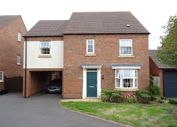 Thumbnail 4 bed detached house for sale in Luke Jackson Way, Stanton Under Bardon, Leicestershire