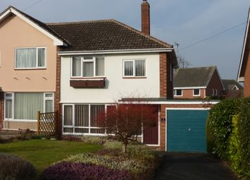 Thumbnail 3 bed semi-detached house for sale in Stretton Close, Kings Acre, Hereford