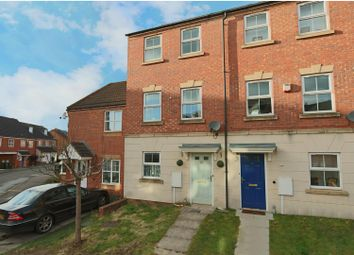 Thumbnail 3 bed town house for sale in Pavior Road, Bestwood, Nottingham