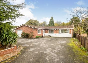 Kenilworth Road, Balsall Common, Coventry CV7. 3 bed detached bungalow for sale