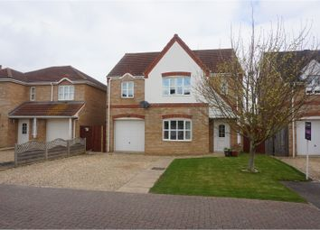 Thumbnail 4 bed detached house for sale in Grove Gardens, Wisbech