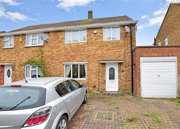 Thumbnail 3 bed semi-detached house for sale in Elmstead Crescent, Welling, Kent