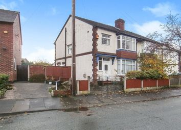 Thumbnail 3 bed semi-detached house for sale in Knypersley Avenue, Offerton, Stockport