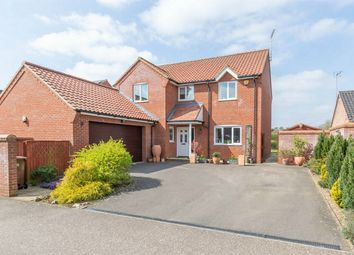 Thumbnail 4 bed detached house for sale in The Paddocks, Mileham, King's Lynn