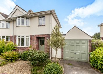 Thumbnail 3 bed semi-detached house for sale in Applegarth Avenue, Newton Abbot