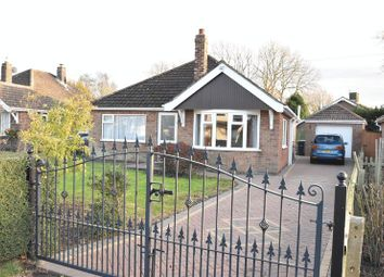 Thumbnail 3 bed detached bungalow for sale in Littlefield Lane, Marshchapel, Grimsby