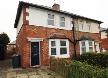 Thumbnail 2 bed semi-detached house to rent in Second Avenue, Morpeth