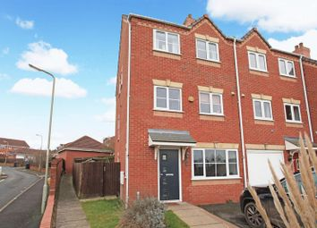 Thumbnail 3 bed end terrace house for sale in Davenham Walk, Telford