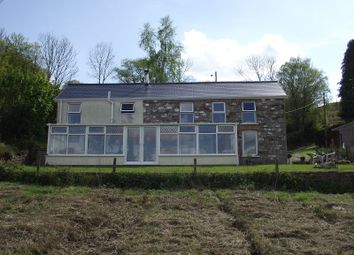Thumbnail 3 bed detached house for sale in Coedffaldau Road, Rhiwfawr, Swansea.