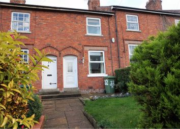 Thumbnail 2 bed terraced house to rent in Hemming Street, Northwich