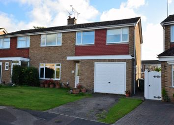 Thumbnail 4 bedroom semi-detached house for sale in Rye Close, Farnborough