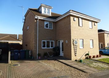 Thumbnail 3 bed semi-detached house for sale in Apeldoorn Walk, Wisbech