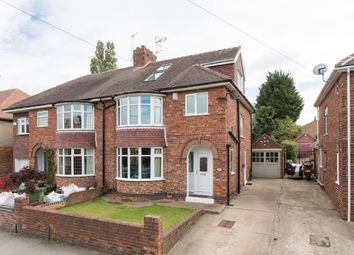 Thumbnail 4 bed semi-detached house for sale in Manor Drive North, Acomb, York