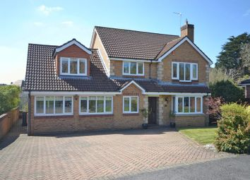 Thumbnail 5 bedroom detached house for sale in Exceptional Executive House, Tregarn Court, Langstone