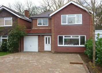 Thumbnail 4 bed detached house to rent in Maple Road, Ripley, Woking