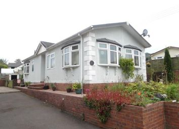 Thumbnail 2 bed mobile/park home for sale in Railway Road, Ruspidge, Cinderford