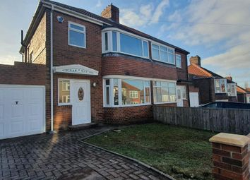 Thumbnail 3 bed semi-detached house for sale in Robsheugh Place, Fenham, Newcastle Upon Tyne