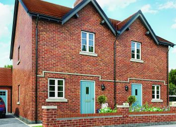 Thumbnail 2 bedroom semi-detached house for sale in Moira, Leicestershire