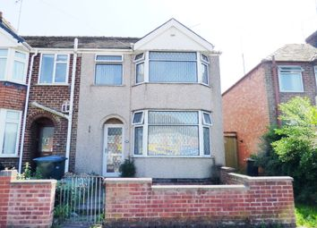 Thumbnail 3 bedroom end terrace house for sale in Rotherham Road, Coventry