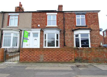 Thumbnail 2 bed terraced house to rent in Neasham Road, Darlington