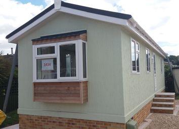 Thumbnail 1 bedroom mobile/park home for sale in Warren Road, Dawlish Warren, Devon