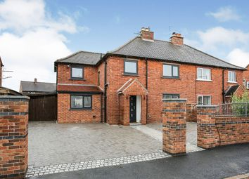 Thumbnail 4 bed semi-detached house for sale in Dukeswood Road, Longtown, Carlisle, Cumbria