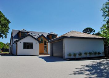 Thumbnail 4 bedroom detached house for sale in Hare Lane, Hordle, Lymington