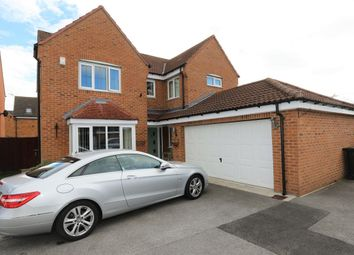 Thumbnail 4 bedroom detached house for sale in Kingfisher Drive, Wombwell, Barnsley