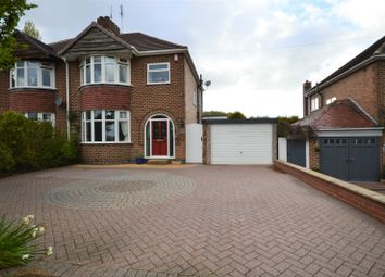 Thumbnail 3 bed semi-detached house for sale in Sandcliffe Road, Midway, Swadlincote, Derbyshire
