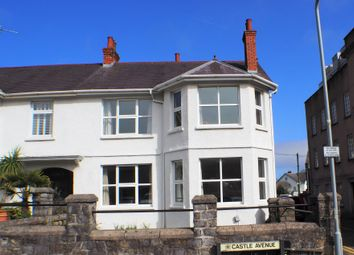 Thumbnail 3 bed semi-detached house to rent in Castle Avenue, Mumbles