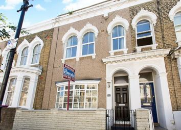 Thumbnail 3 bed terraced house for sale in Strahan Road, London