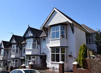 Thumbnail 3 bed end terrace house for sale in Le Breos Avenue, Uplands, Swansea