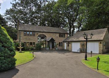 Thumbnail 4 bed detached house for sale in Stubley New Barn, Stubley Lane, Littleborough