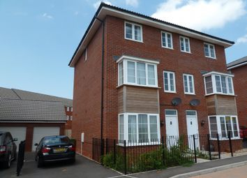Thumbnail 4 bed semi-detached house to rent in Jack Sadler Way, Exeter
